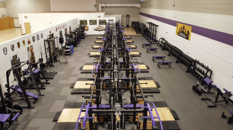Powerlifting Competition Facility