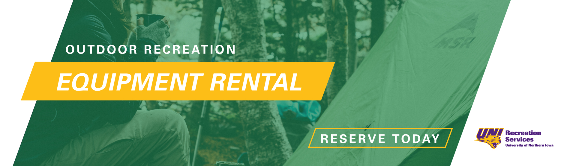 Outdoor Rec - Equipment Rentals