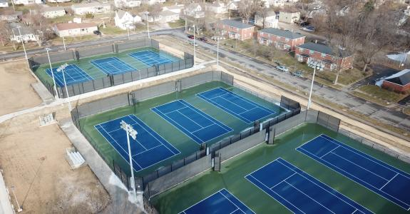 Outdoor Tennis Complex